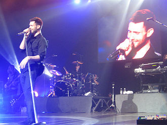 Adam Levine - Levine performing with Maroon 5 in 2007