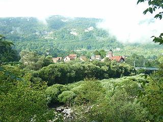 Martin Brod Village in Federation of Bosnia and Herzegovina, Bosnia and Herzegovina