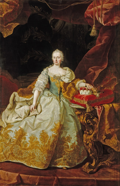 Martin van Meytens - Cesarica Marija Terezija