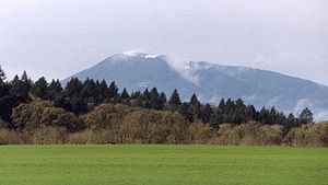 Marys Peak - Viewing Marys Peak from the Willamette Valley.