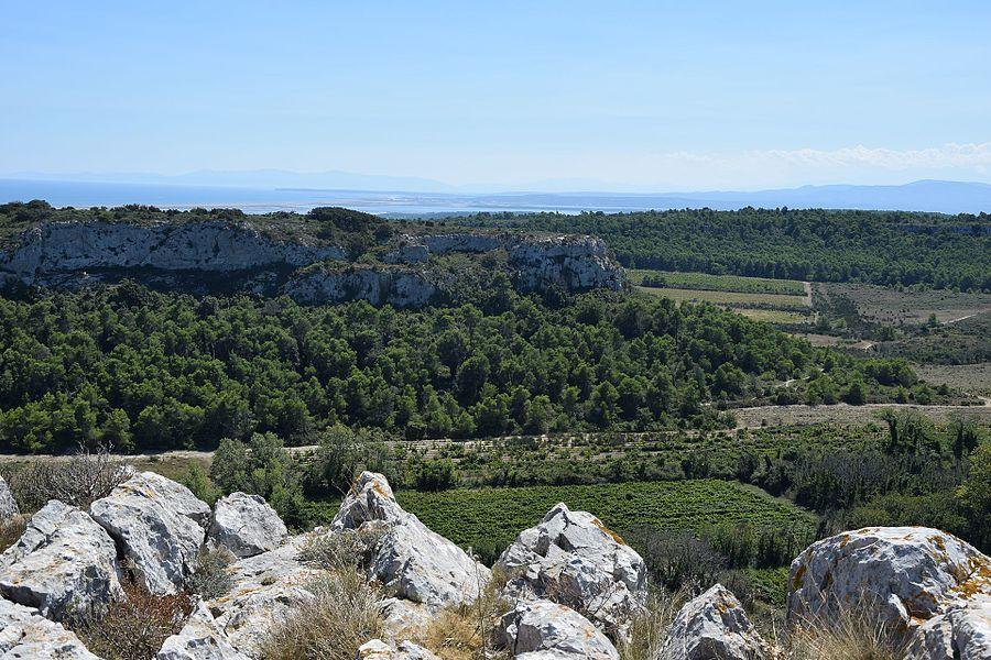 Massif de la Clape, south of France