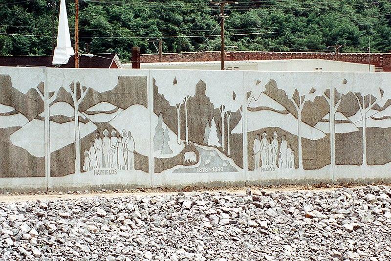 File:Matewan West Virginia floodwall.jpg