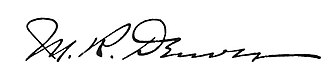 Matthew Denver - Image: Matthew Denver signature
