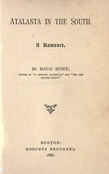 Maud Howe - Atlanta in the South.djvu