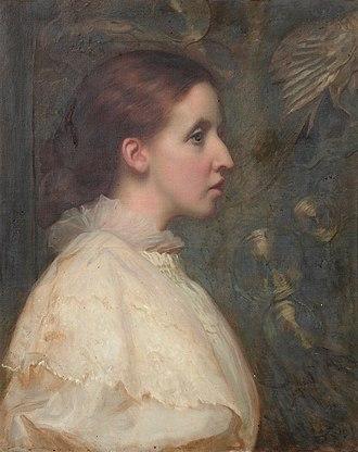 Frederick Verney - Maude Sarah Verney (William Blake Richmond)