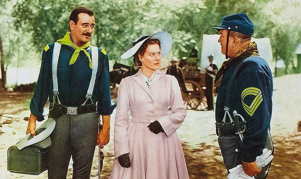 Maureen O'Hara John Wayne from lobby card