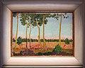 Maurice denis, paesaggio vicino a Puldu con cielo verde, 1905 ca.jpg