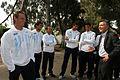 Mauricio Macri con el equipo argentino de Copa Davis (7042605773).jpg