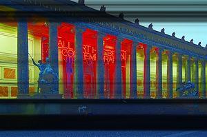 Maurizio Nannucci - Maurizio Nannucci, All Art Has Been Contemporary, 1999/2000, neon lights. Altes Museum, Berlin