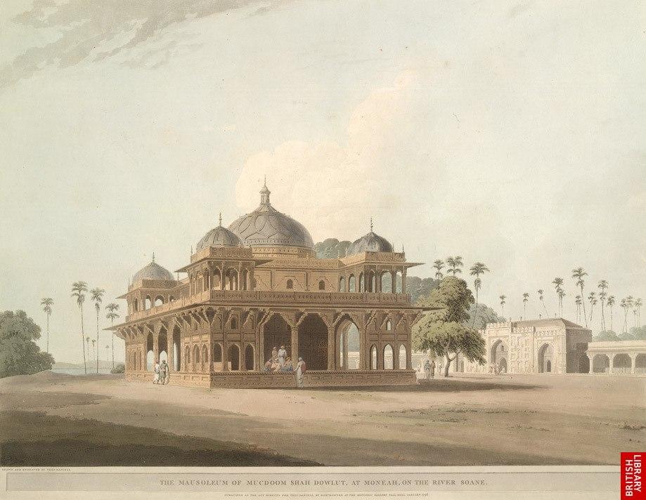 Mausoleum of Makhdoom Shah Daulat, Maner, Patna, 19th century
