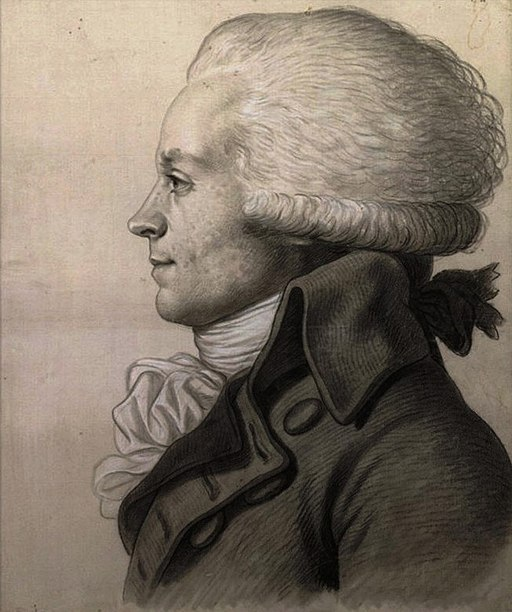 Maximilien Robespierre - physionotrace