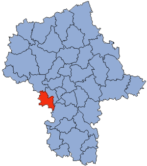 Żyrardów County - Image: Mazowsze Żyrardowski