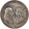 Medalj präglad till Karl XIIIs och Hedvig Elisabeth Charlottas kröning 29 juni 1809 - Skoklosters slott - 99576.tif