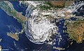 Mediterranean hurricane (Medicane) Ianos over Greece - September 18th, 2020 (50355868136).jpg