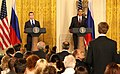Medvedev in Washington 2010 01.jpg