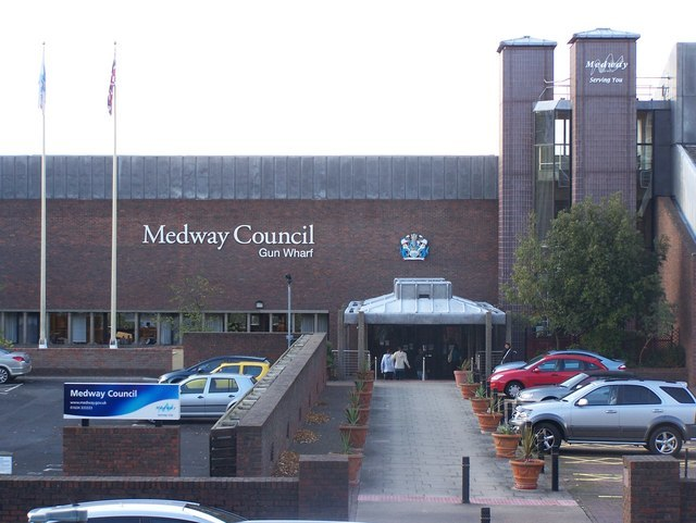 Medway Council, Gun Wharf - geograph.org.uk - 1024482