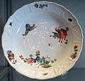 Meissen, 1740-1763 circa, piatto con cineserie 01.JPG