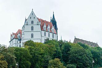 Meissen porcelain - Albrechtsburg castle in Meissen