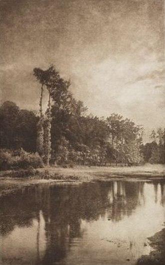 Alfred Horsley Hinton - Melton Meadows