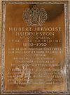 Memorial to Hubert Jervoise Huddleston in Sherborne Abbey.jpg