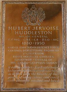 Hubert Huddleston British Army general