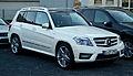 Mercedes-Benz GLK 220 CDI 4MATIC BlueEFFICIENCY Sport-Paket AMG (X 204) – Frontansicht, 25. März 2012, Düsseldorf.jpg