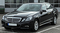 Mercedes E 200 CDI BlueEFFICIENCY Avantgarde (W212) front-1 20100621.jpg