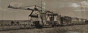 Mesherskoye peat narrow-gauge railway - Image: Mesherskoye peat enterprise (Bolon') 1
