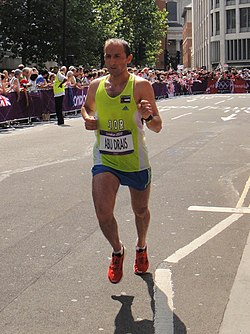 Methkal Abu Drais (Jordan) - London 2012 Mens Marathon.jpg