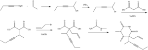 Methohexital - Image: Methohexital synthesis