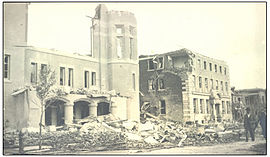 Metropolitan Methodist Church and YWCA, Lorne Street, after the June 30, 1912.jpg