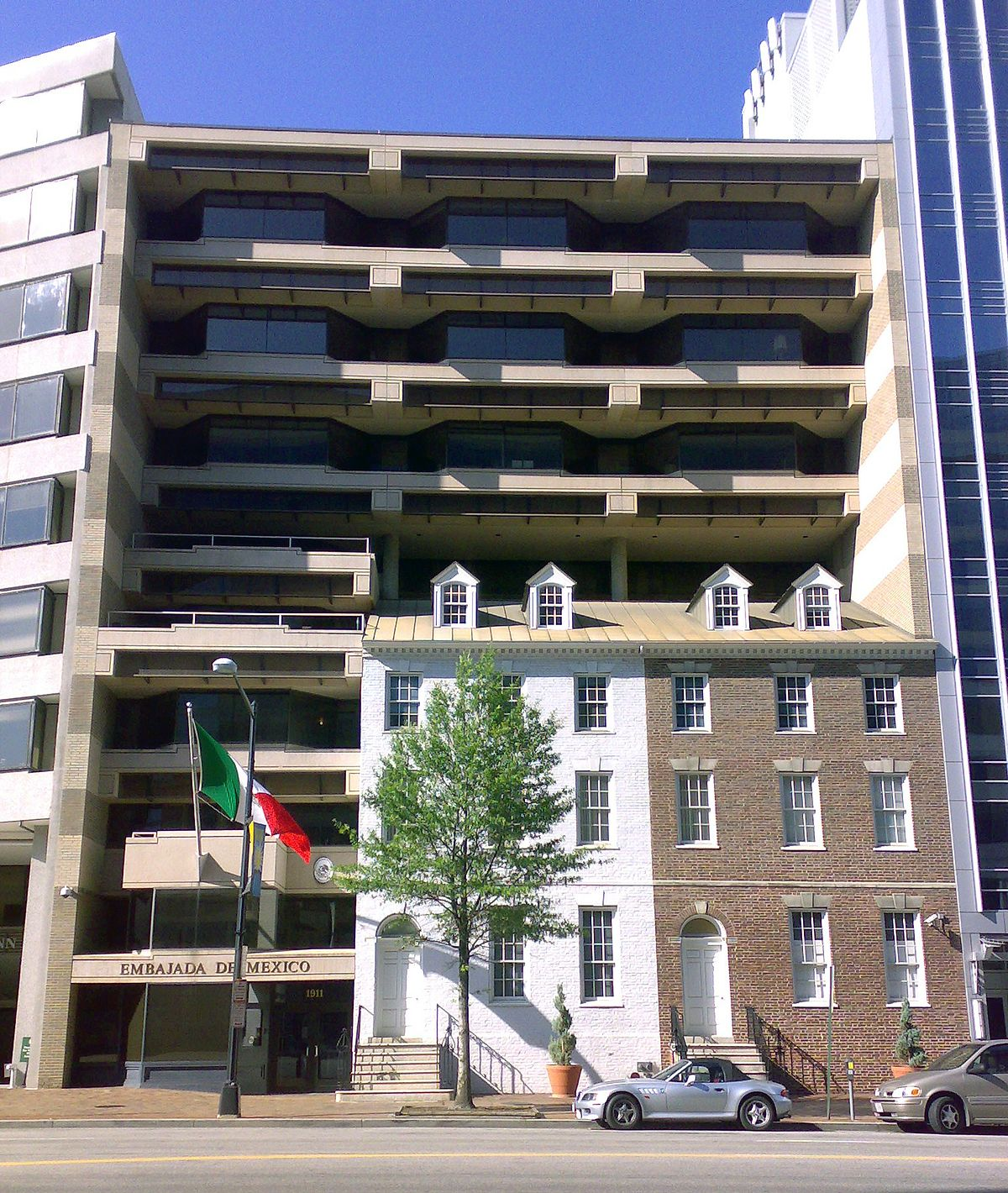 Embassy of mexico washington d c wikipedia for Consul building