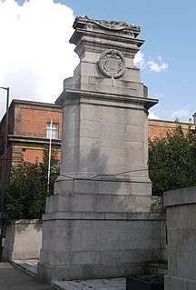 Midland Railway War Memorial war memorial in Derby, England