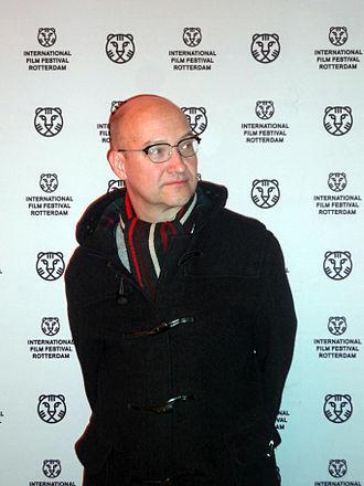 """Mika Taanila - Mika Taanila after a screening of """"Six Day Run"""" at the International Film Festival Rotterdam, 2013"""