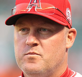 Mike Butcher - Butcher with the Los Angeles Angels of Anaheim