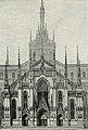 Milano nuova facciata del Duomo Progetto dell'architetto Brentano.jpg