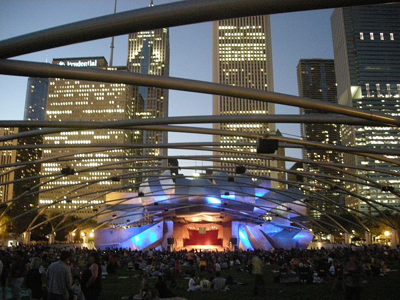 File:Millennium Park August 2010 1 (Jay Pritzker Pavilion).JPG