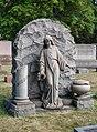 Miller grave - Lake View Cemetery (24221022887).jpg