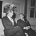 Minister-president Jack Lynch (links) en premier Piet de Jong, Bestanddeelnr 920-4279.jpg