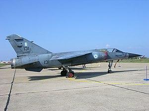 Mirage F.1CG 131 preserved Aktion, Greece.jpg