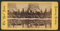 Mirror Lake, Mountains and Reflections, Yosemite Valley, California, from Robert N. Dennis collection of stereoscopic views.png