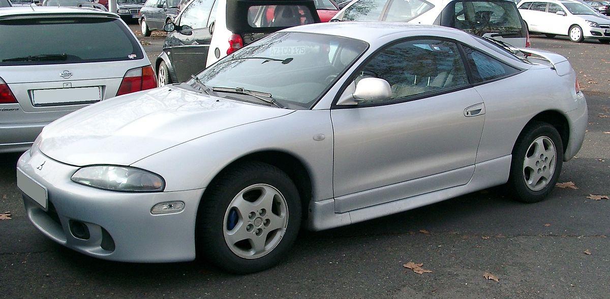 2000 Mitsubishi Eclipse GT - 2dr Hatchback 3.0L V6 Manual