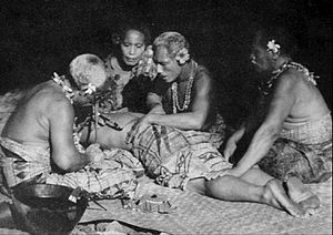 Docufiction - Moana, by Robert Flaherty, the first docufiction in film history (1926)