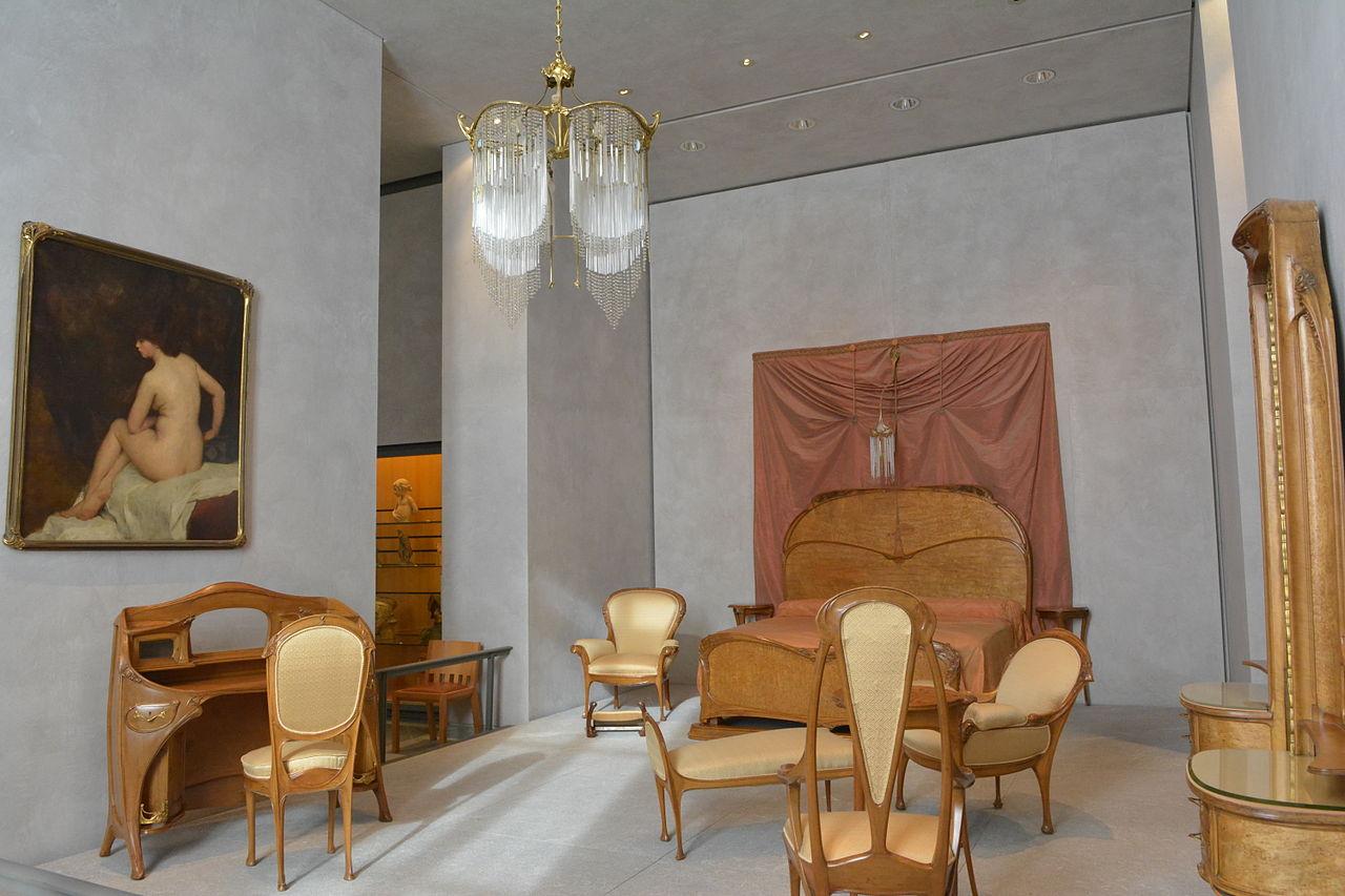 Decoration Simple Chambre Fille : FileMobilier provenant de la Chambre à coucher de lHôtel Guimard