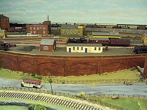 Model railway layout. Photo taken at the Natio...