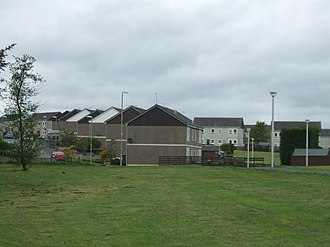 Mintlaw - Modular (i.e. pre-fabricated) housing built at Mintlaw in the 1980s