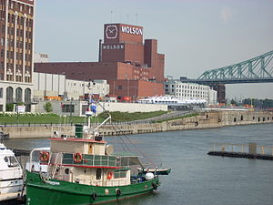 Molson Brewery - Molson brewery in Old Montreal
