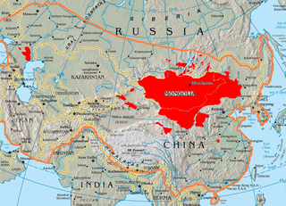 Mongolian language language spoken in Mongolia