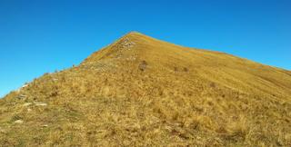 Monte Monega mountain in Italy