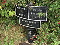 Montgomery Canal 13 mile milepost - geograph.org.uk - 580666.jpg